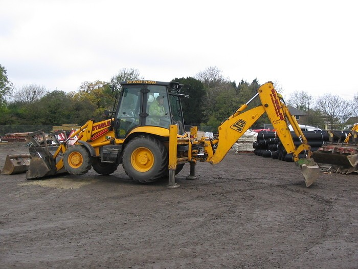 JCB Hire 3CX